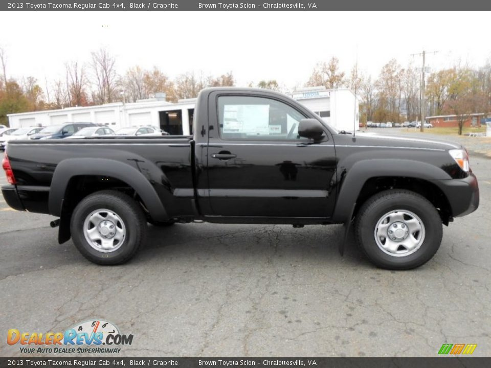 black 2013 toyota tacoma regular cab 4x4 photo 2. Black Bedroom Furniture Sets. Home Design Ideas
