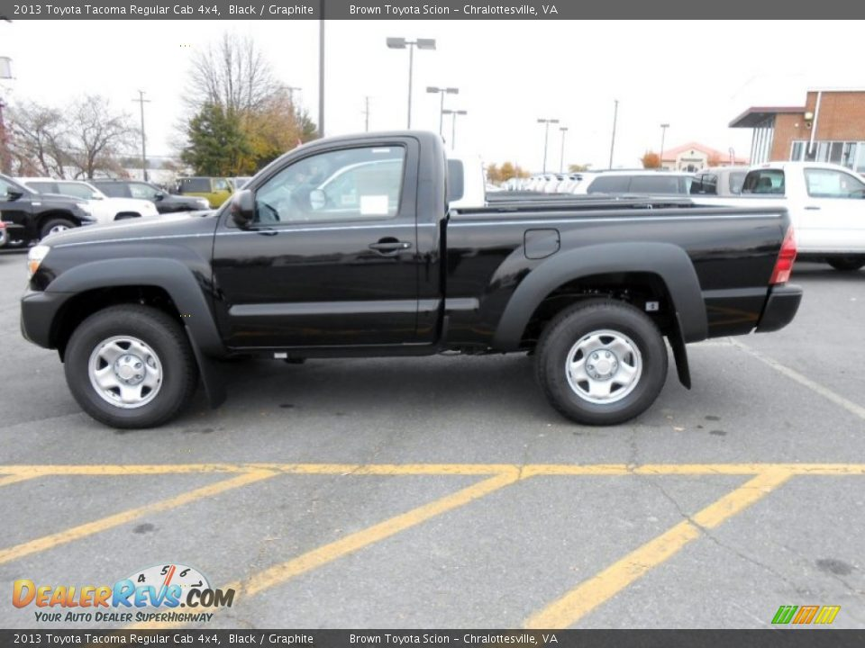 black 2013 toyota tacoma regular cab 4x4 photo 5. Black Bedroom Furniture Sets. Home Design Ideas