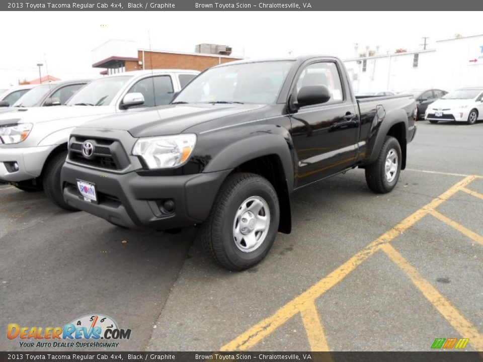 front 3 4 view of 2013 toyota tacoma regular cab 4x4 photo 6. Black Bedroom Furniture Sets. Home Design Ideas