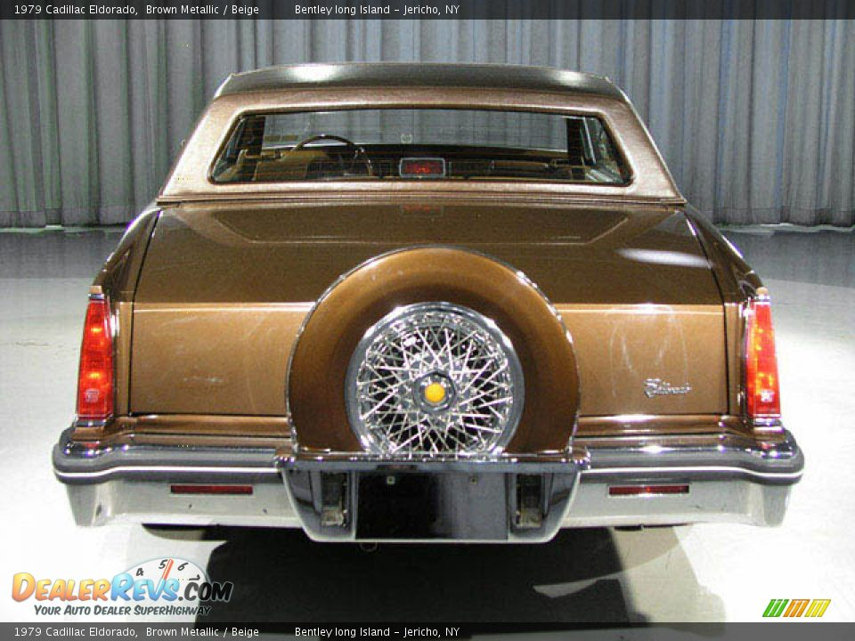 1979 Cadillac Eldorado Brown Metallic / Beige Photo #15 | DealerRevs ...