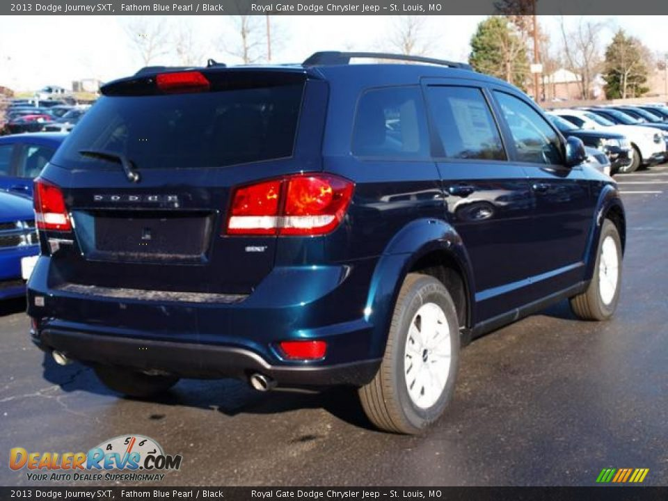 2013 dodge journey sxt fathom blue pearl black photo 3. Black Bedroom Furniture Sets. Home Design Ideas