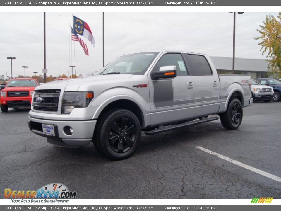 2013 ford f150 fx2 supercrew ingot silver metallic fx sport appearance black red photo 6. Black Bedroom Furniture Sets. Home Design Ideas