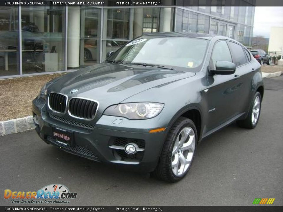 2008 Bmw X6 Xdrive35i Tasman Green Metallic Oyster Photo