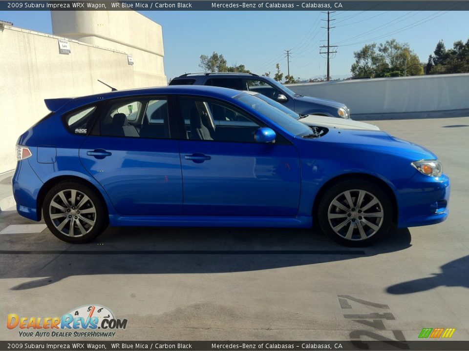 2009 subaru impreza wrx wagon wr blue mica carbon black photo 2. Black Bedroom Furniture Sets. Home Design Ideas