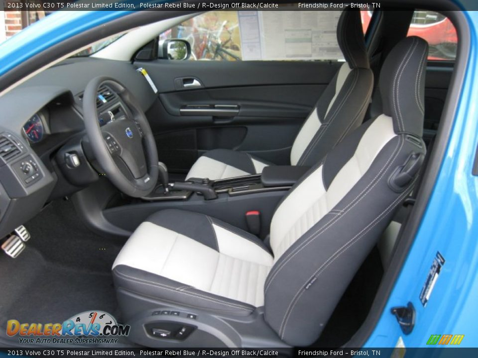 R Design Off Black Calcite Interior 2013 Volvo C30 T5