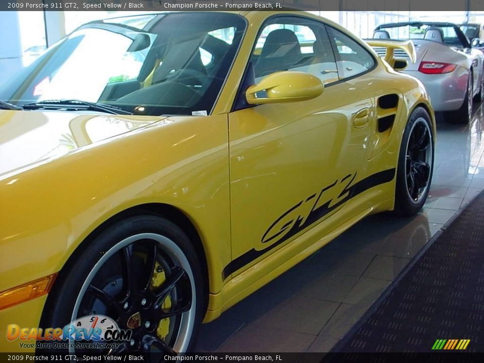 2009 porsche 911 gt2 speed yellow black photo 7. Black Bedroom Furniture Sets. Home Design Ideas