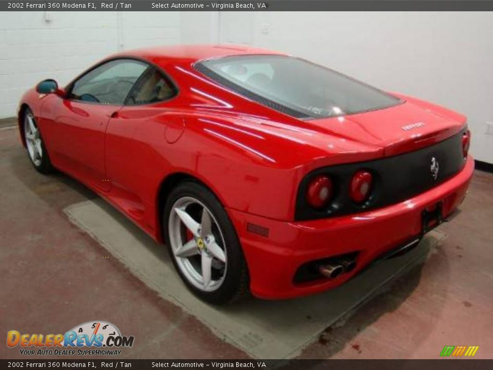 2002 Ferrari 360 Modena F1 Red Tan Photo 11