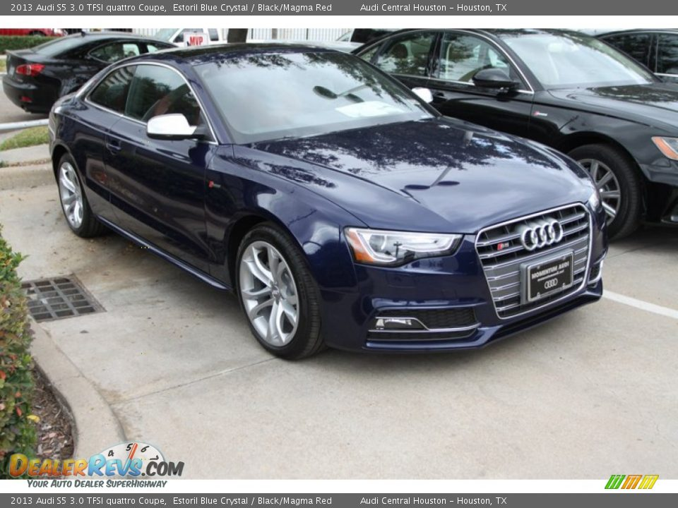 2013 Audi S5 3 0 Tfsi Quattro Coupe Estoril Blue Crystal