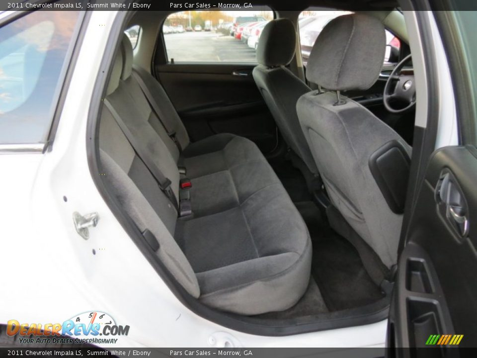 2011 Chevrolet Impala LS Summit White / Ebony Photo #9
