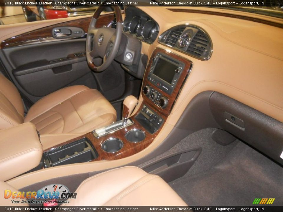 choccachino leather interior 2013 buick enclave leather photo 3