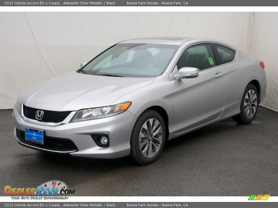 2013 honda accord ex l coupe alabaster silver metallic