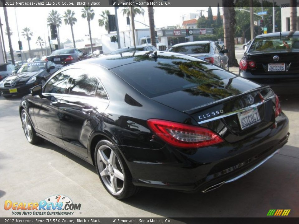 2012 mercedes benz cls 550 coupe black black photo 4 for 2012 mercedes benz cls