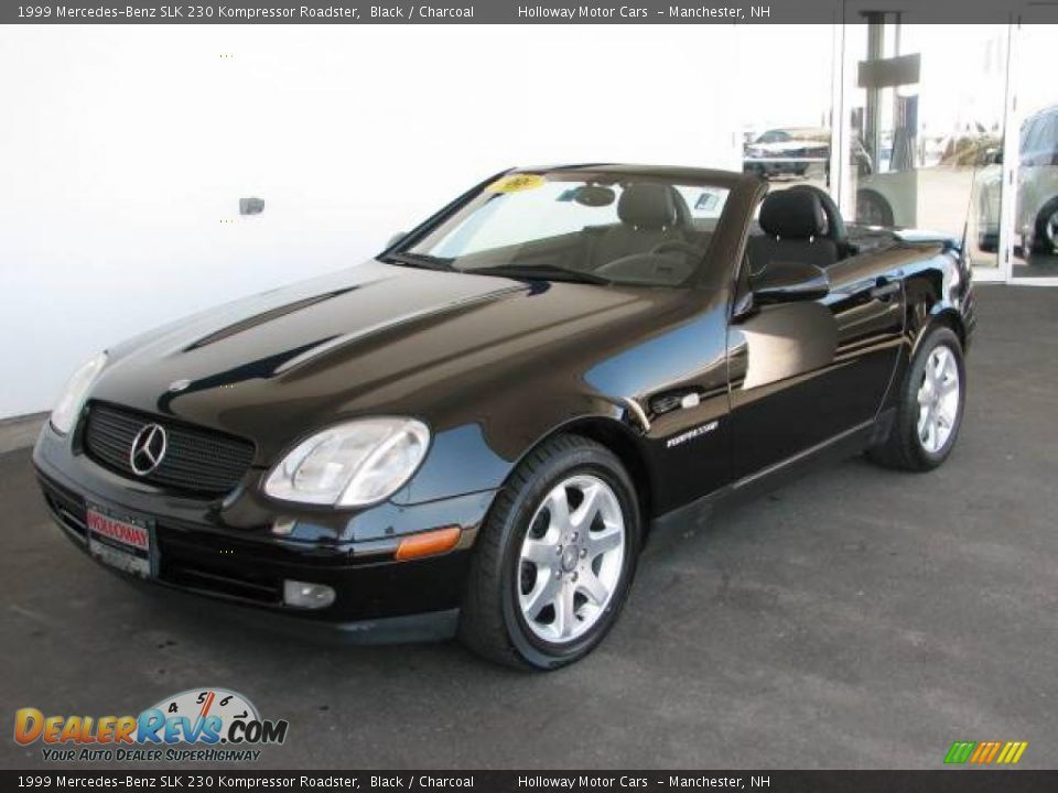 1999 mercedes benz slk 230 kompressor roadster black for 1999 mercedes benz slk 230 kompressor