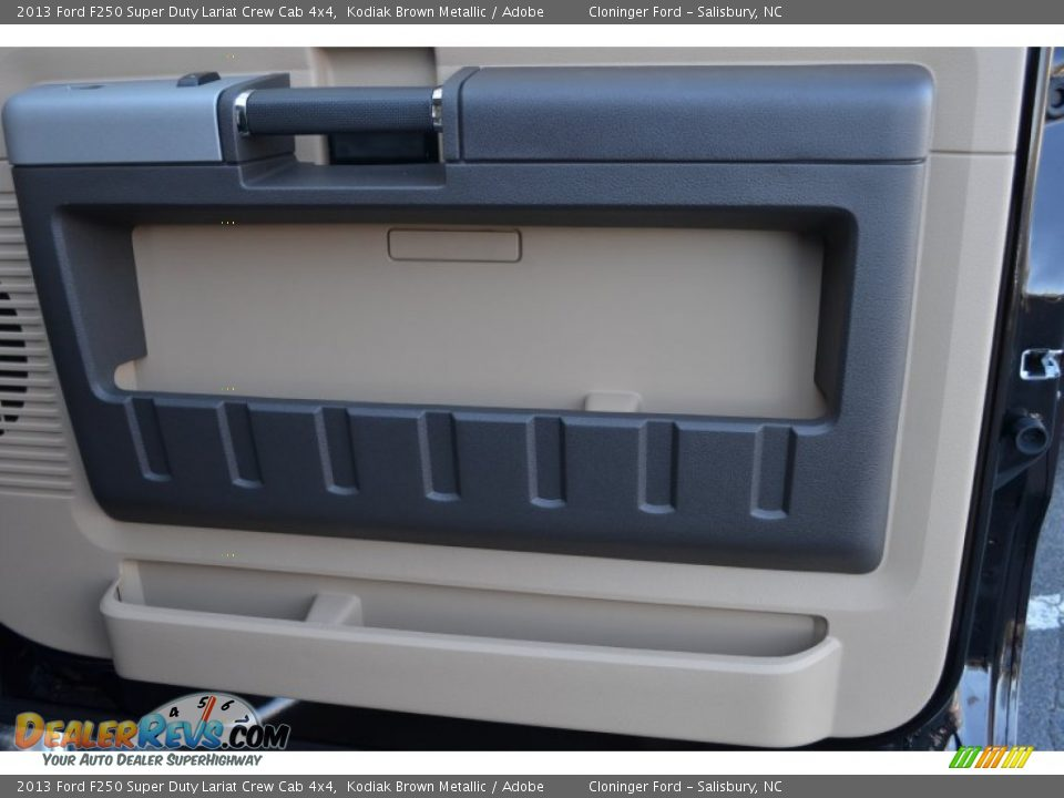 2013 Ford F250 Super Duty Lariat Crew Cab 4x4 Kodiak Brown Metallic