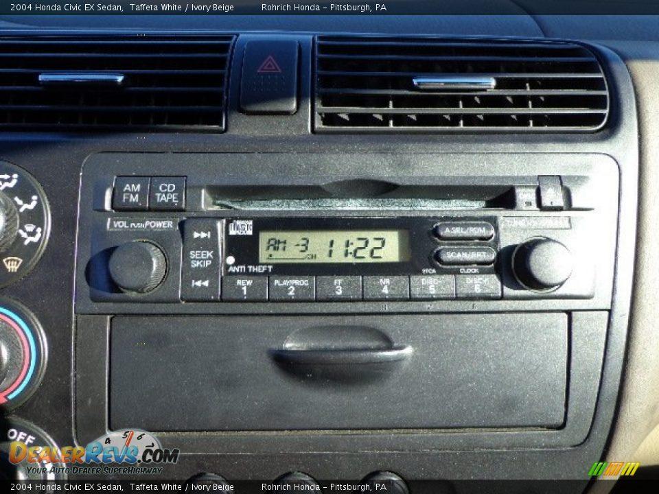 audio system of 2004 honda civic ex sedan photo 10. Black Bedroom Furniture Sets. Home Design Ideas