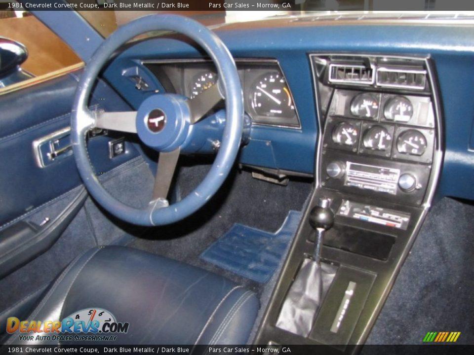 Dashboard of 1981 Chevrolet Corvette Coupe Photo #9