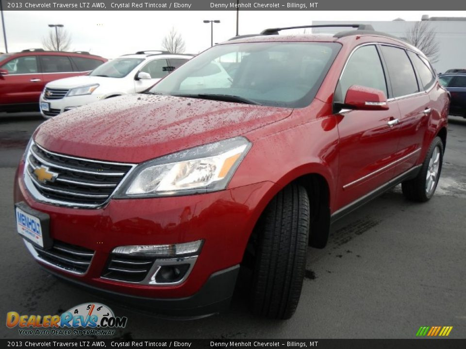 2013 chevrolet traverse ltz awd crystal red tintcoat. Black Bedroom Furniture Sets. Home Design Ideas