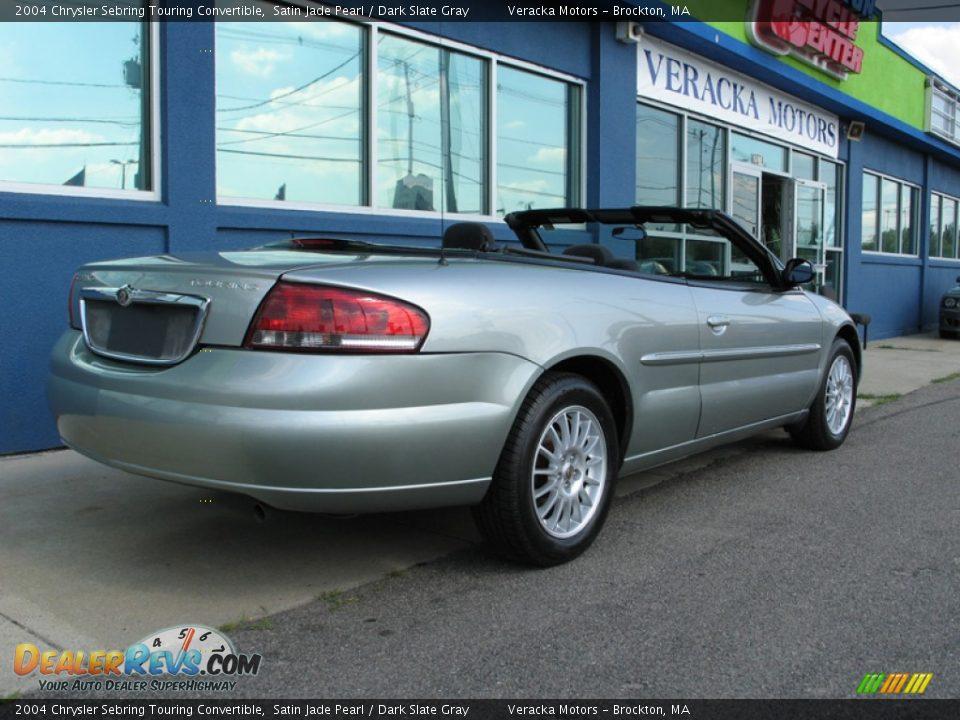 2004 chrysler sebring touring convertible satin jade pearl dark. Cars Review. Best American Auto & Cars Review