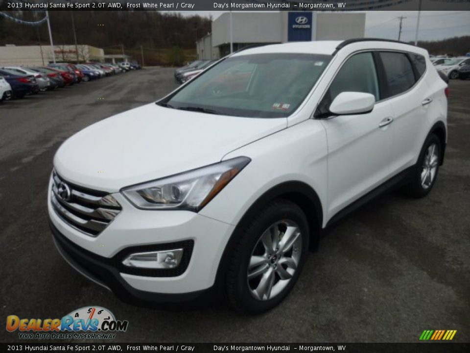 2013 hyundai santa fe sport 2 0t awd frost white pearl. Black Bedroom Furniture Sets. Home Design Ideas