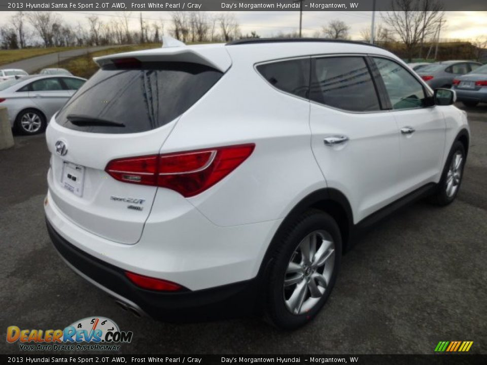 2013 hyundai santa fe sport 2 0t awd frost white pearl gray photo 7. Black Bedroom Furniture Sets. Home Design Ideas