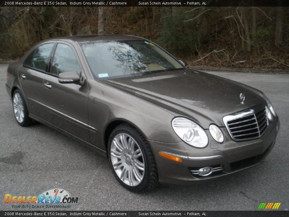 2008 mercedes benz e 350 sedan indium grey metallic for Mercedes benz e 350 2008