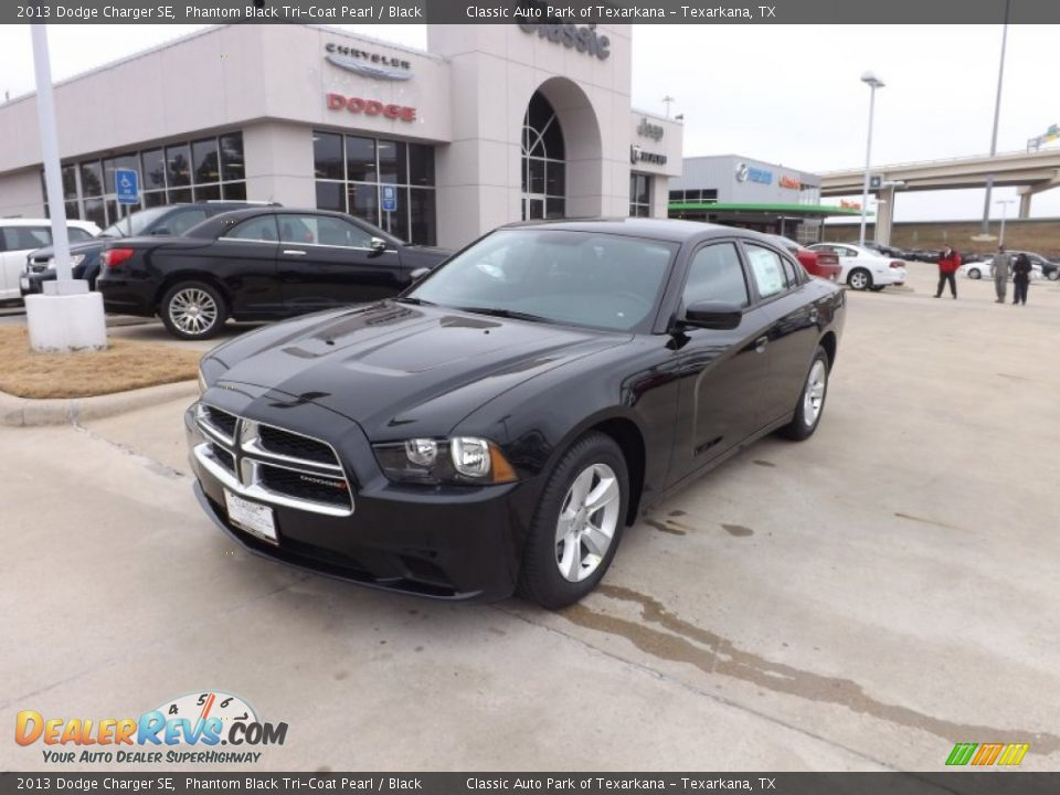 2013 dodge charger se phantom black tri coat pearl black photo 1 dealerr. Cars Review. Best American Auto & Cars Review