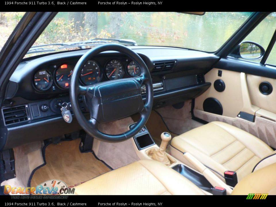 Cashmere Interior 1994 Porsche 911 Turbo 3 6 Photo 14