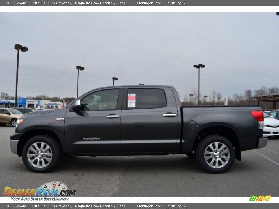 Magnetic Gray Metallic 2013 Toyota Tundra Platinum Crewmax