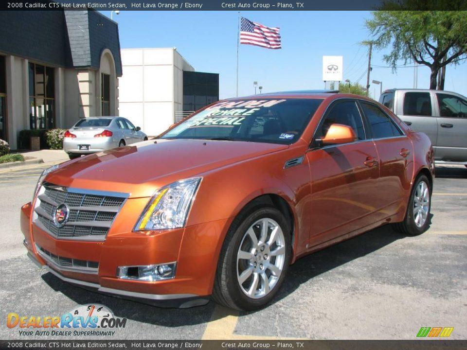 2008 Cadillac CTS Hot Lava Edition Sedan Hot Lava Orange ...