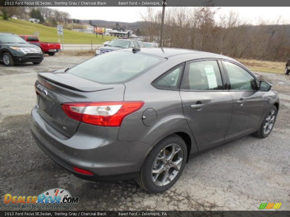 2013 Ford Focus SE Sedan Sterling Gray / Charcoal Black ...