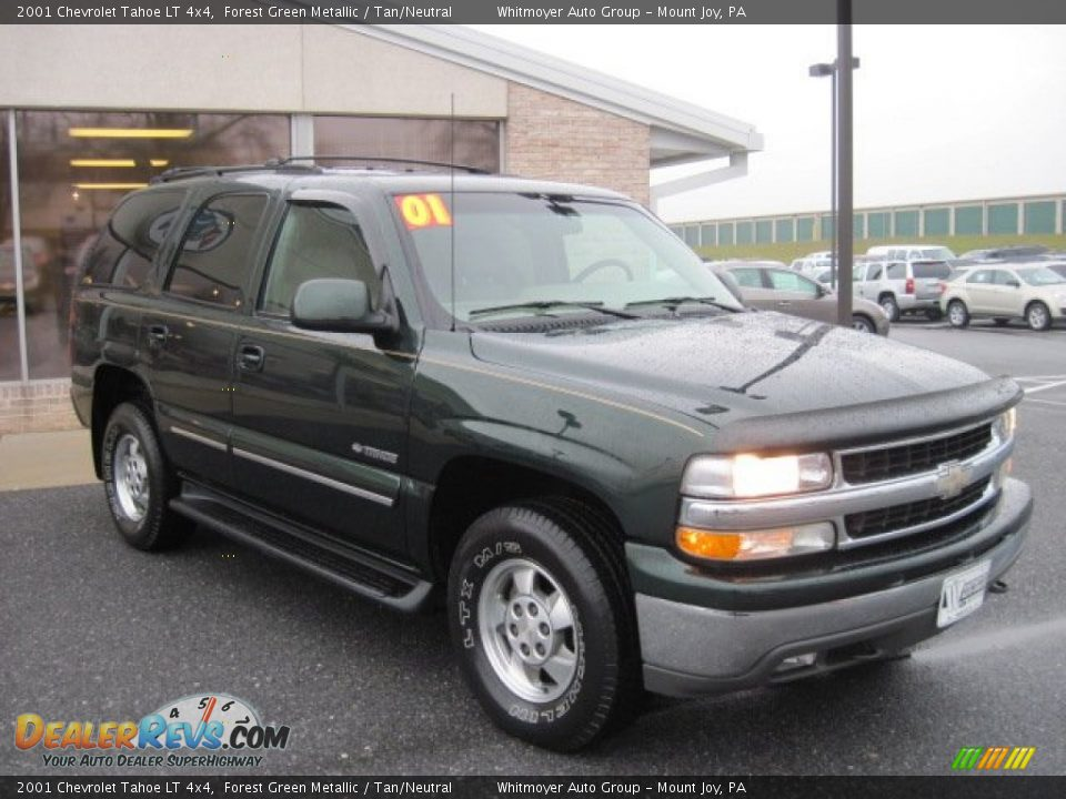 2001 Chevrolet Tahoe Lt 4x4 Forest Green Metallic Tan