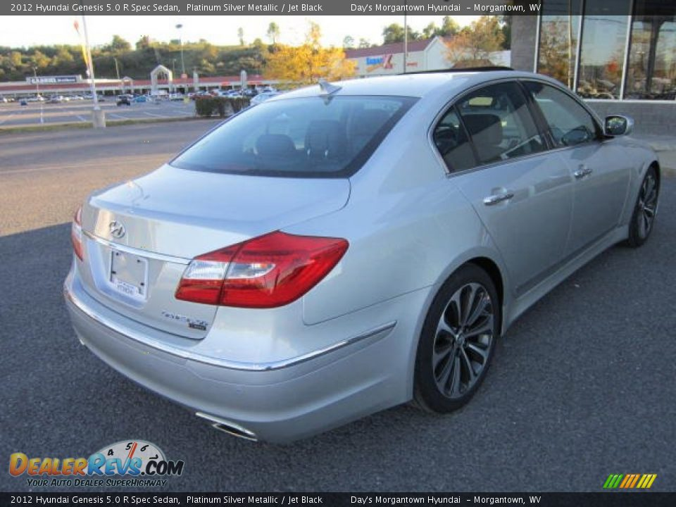 2012 hyundai genesis 5 0 r spec sedan platinum silver metallic jet black photo 7. Black Bedroom Furniture Sets. Home Design Ideas