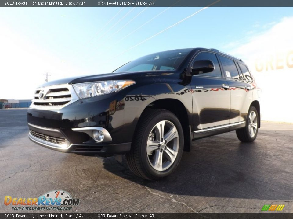 2013 Toyota Highlander Limited Black Ash Photo 4