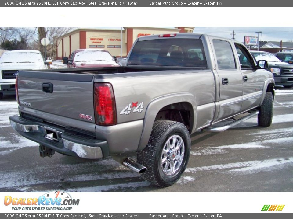 2006 gmc sierra 2500hd slt crew cab 4x4 steel gray. Black Bedroom Furniture Sets. Home Design Ideas