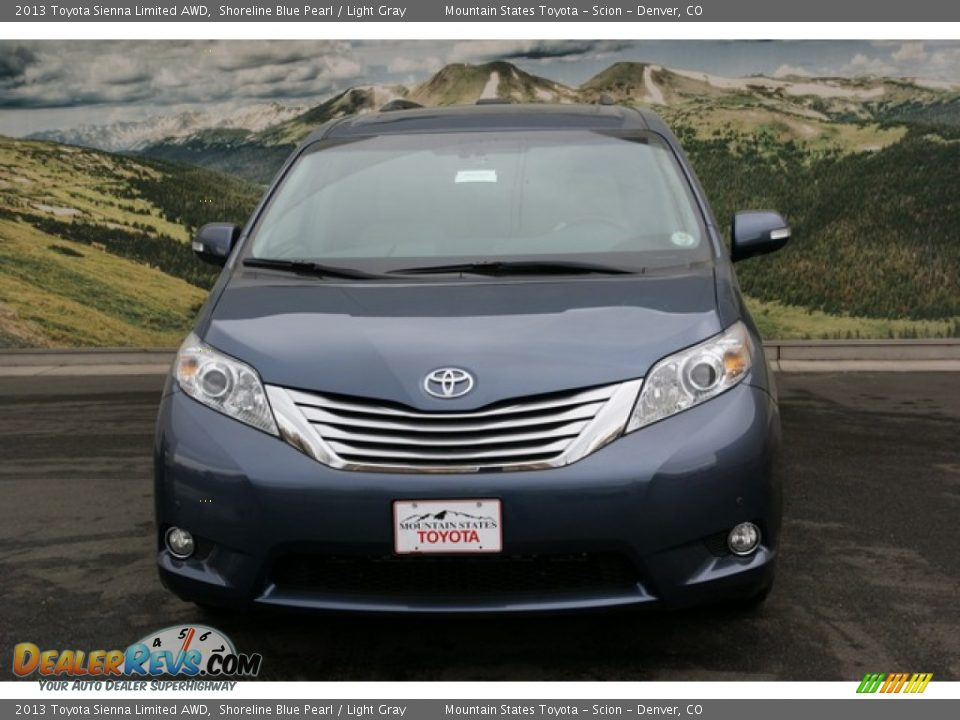 2013 toyota sienna limited awd shoreline blue pearl. Black Bedroom Furniture Sets. Home Design Ideas
