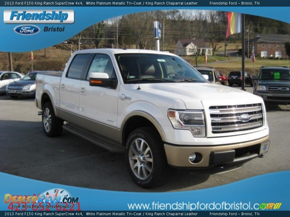 2013 ford f150 king ranch supercrew 4x4 white platinum metallic tri coat king ranch chaparral. Black Bedroom Furniture Sets. Home Design Ideas