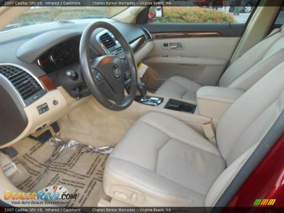 Cashmere Interior 2007 Cadillac Srx V8 Photo 5