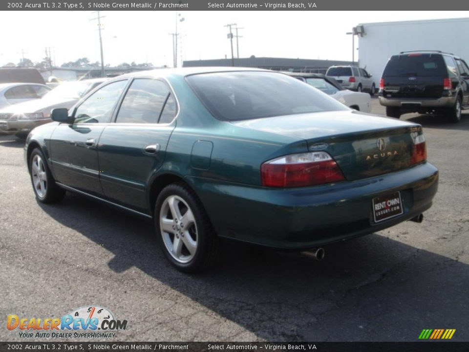 2002 acura tl 3 2 type s s noble green metallic parchment photo 4. Black Bedroom Furniture Sets. Home Design Ideas