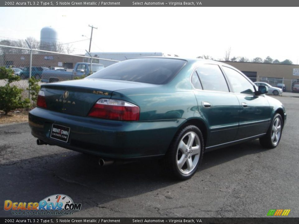 2002 acura tl 3 2 type s s noble green metallic parchment photo 6. Black Bedroom Furniture Sets. Home Design Ideas