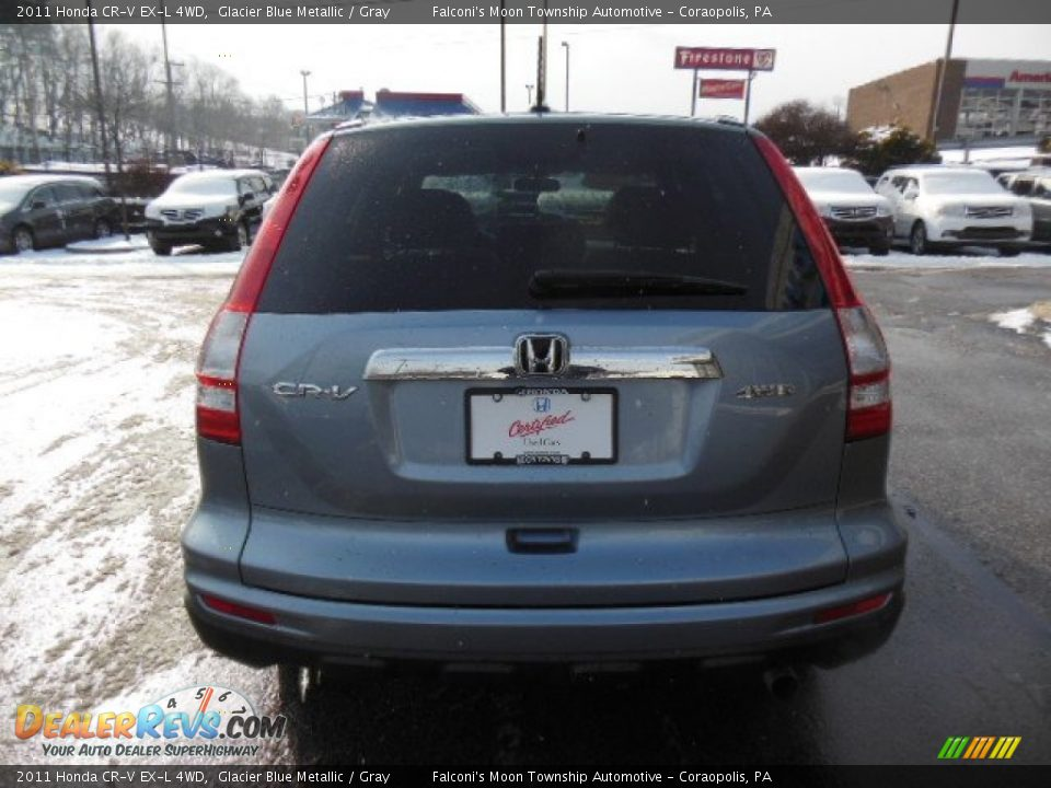 2011 honda cr v ex l 4wd glacier blue metallic gray photo 6. Black Bedroom Furniture Sets. Home Design Ideas
