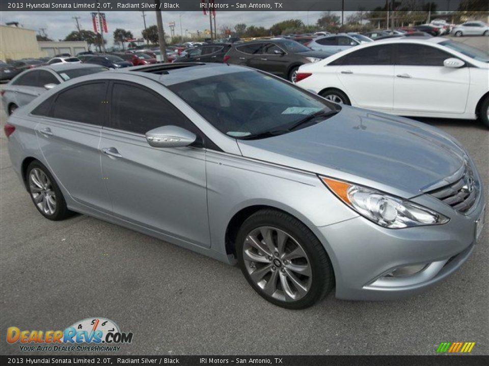 2013 Hyundai Sonata Limited 2 0t Radiant Silver Black