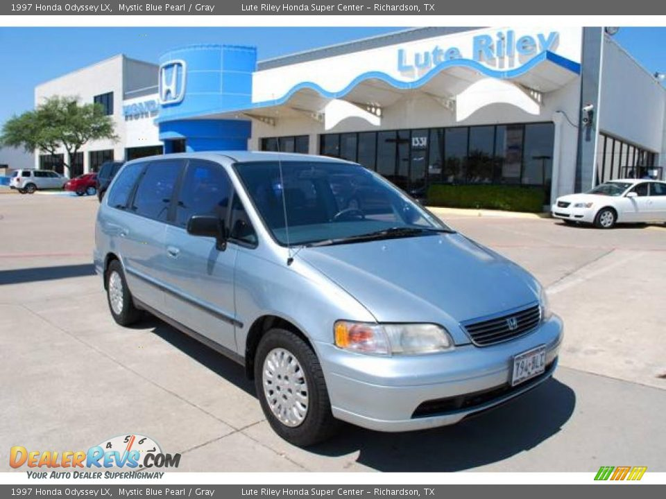 1997 honda odyssey lx mystic blue pearl gray photo 1