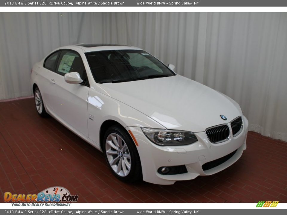 front 3 4 view of 2013 bmw 3 series 328i xdrive coupe. Black Bedroom Furniture Sets. Home Design Ideas