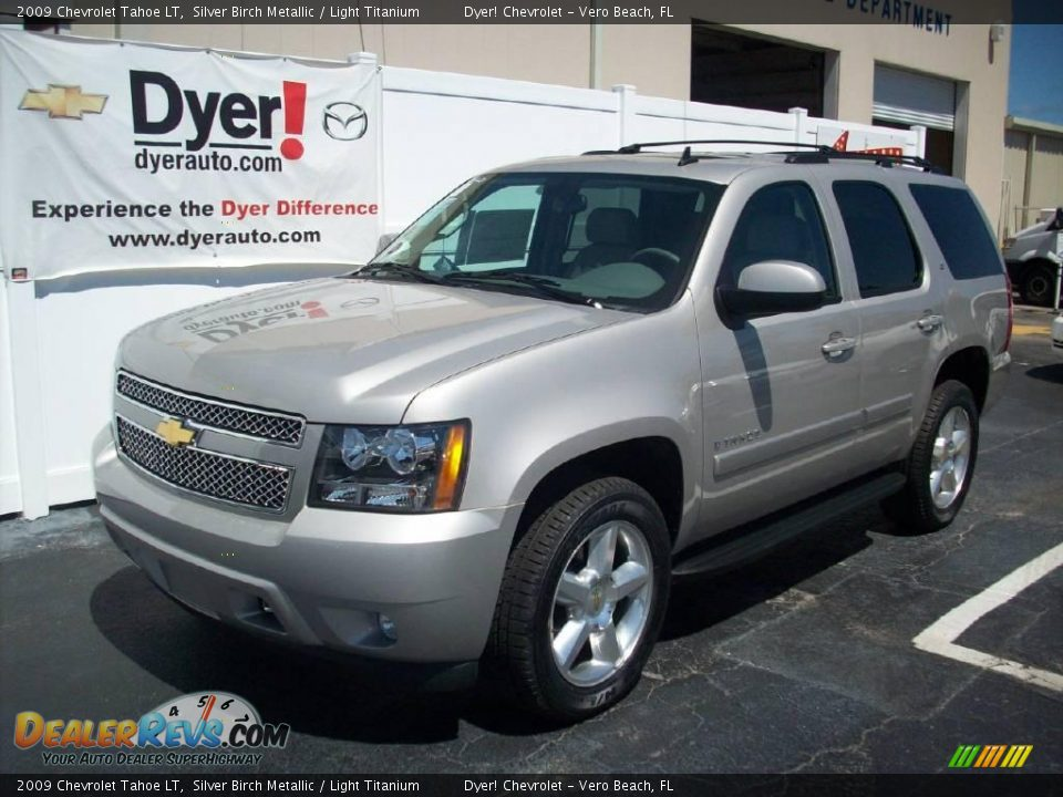 2009 chevrolet tahoe lt silver birch metallic light. Black Bedroom Furniture Sets. Home Design Ideas