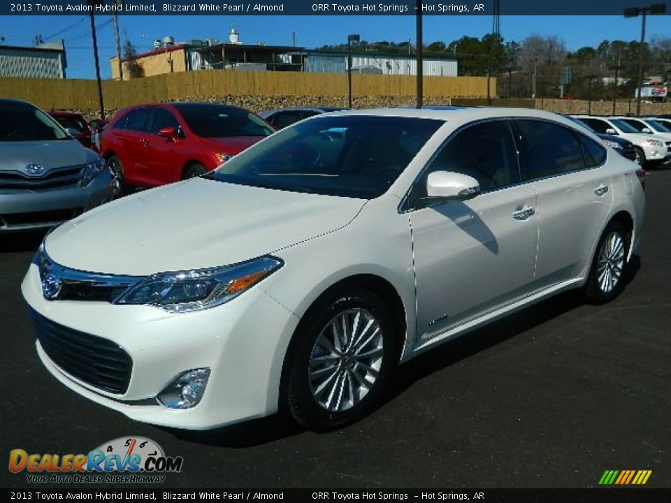 2013 toyota avalon hybrid limited blizzard white pearl almond photo 7. Black Bedroom Furniture Sets. Home Design Ideas