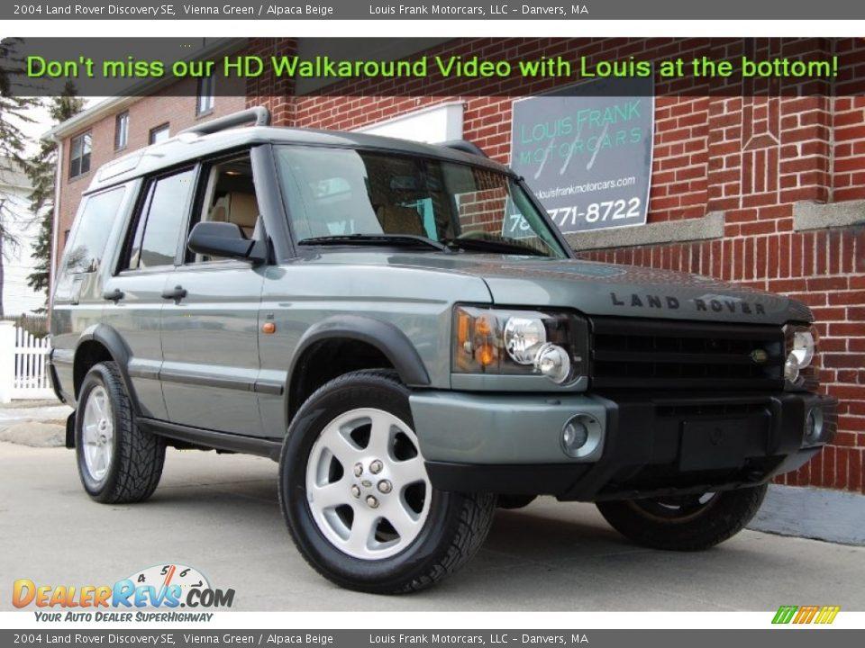 2004 Land Rover Discovery Se Vienna Green Alpaca Beige