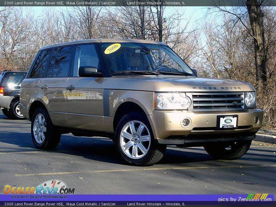 2006 land rover range rover hse maya gold metallic sand. Black Bedroom Furniture Sets. Home Design Ideas