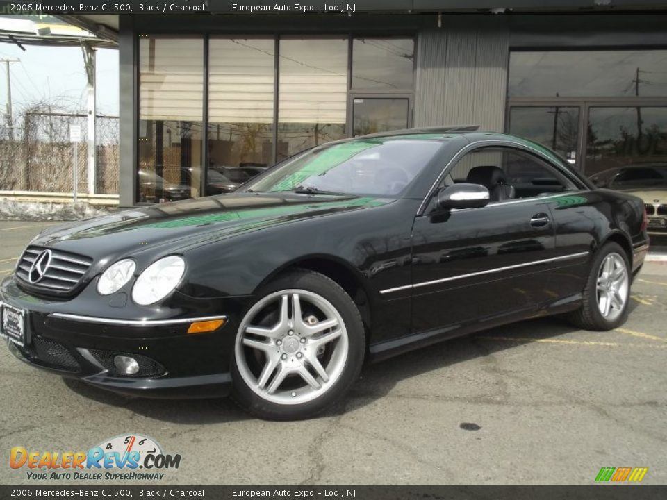 2006 mercedes benz cl 500 black charcoal photo 1 for 2006 mercedes benz cl500
