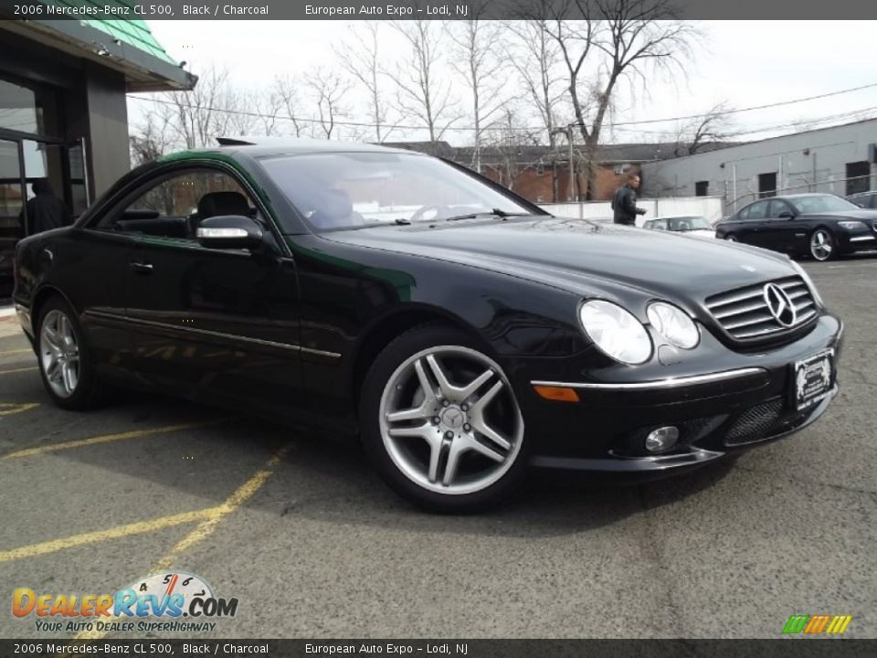 2006 mercedes benz cl 500 black charcoal photo 2 for 2006 mercedes benz cl500