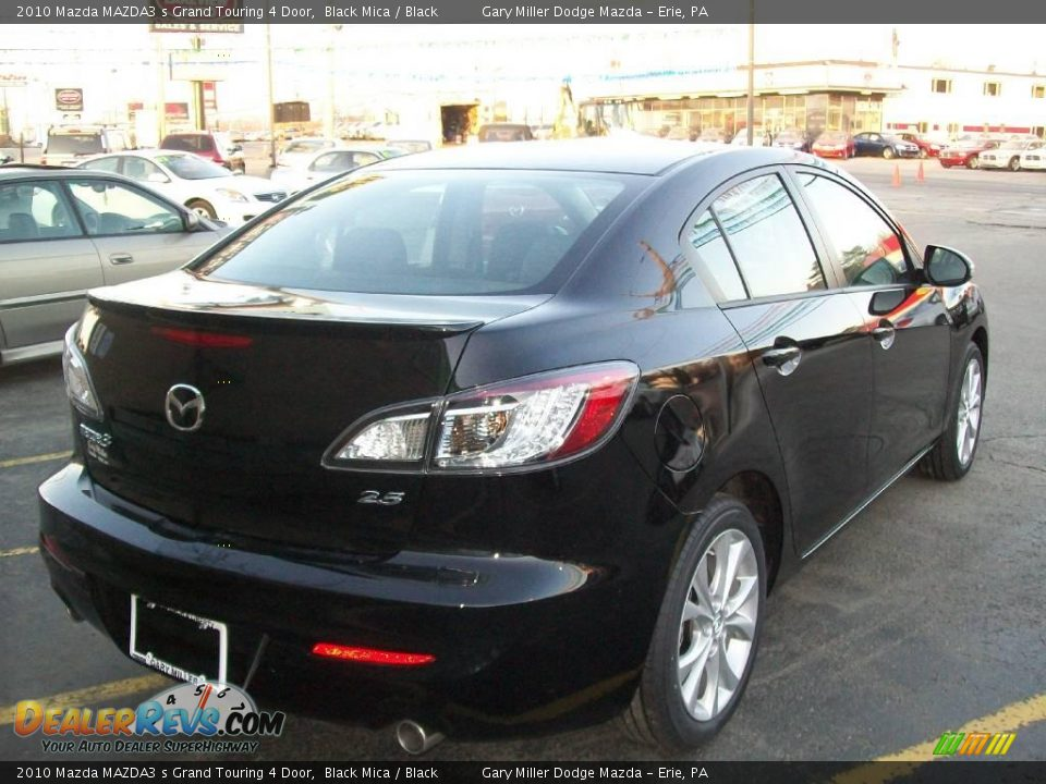 2010 mazda mazda3 s grand touring 4 door black mica black photo 6. Black Bedroom Furniture Sets. Home Design Ideas